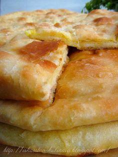 Постигая искусство кулинарии... : Осетинские пироги с картофелем и сыром. Картофджин.