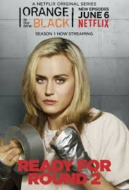 Orange is the New Black - series 2. Damn I love this show.