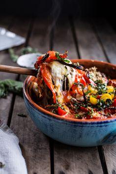 One-Pan Spring Tuscan Quinoa Bake