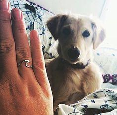 @kellyrosenivison wearing her @indieandharper Silver Wave Ring ♥️ www.indieandharper.com