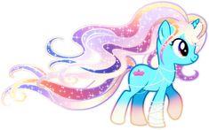 Long Glitter Mane Pony Adoptable CLOSED by YukiAdoptablesPonies on DeviantArt
