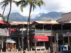 Lahaina Town in Maui - You can still get a feel for old Lahaina as you stroll down lively Front Street and visit historic stops. I was there!