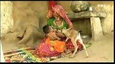 #woman in #india #breastfeeding #animal