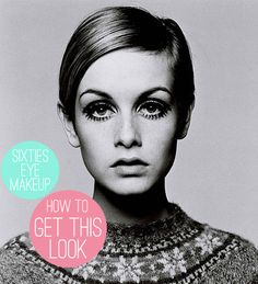 Oh So Lovely Vintage: How to get the look: Sixties eye makeup.