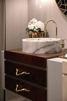 Maison Valentina Introduces New Bathroom Designs to Its Collection - Covet Edition New Bathroom Designs, Contemporary Bathroom Designs, Bathroom Design Luxury, Bathroom Trends, Bathroom Renovations, Bathroom Cabinetry, Bathroom Furniture, Bathroom Interior, Home Interior