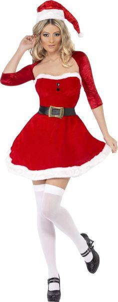Déguisement Mère Noël boléro femme   Deguise-toi, achat de Déguisements  adultes. Bolero FemmeRobeTenue ... f4019bb8ebb2