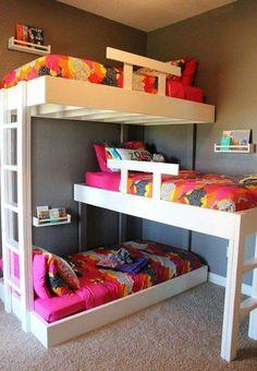 Lieblich Triple Bunk Bed