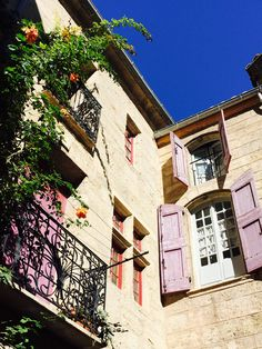 """A warm autumn day in Pezenas  """" South of France"""""""