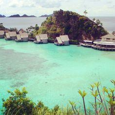 Misool Eco Resort - Raja Ampat in West Papua, Indonesia