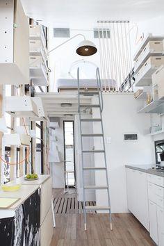 185 Sq. Ft. Tall Tiny House: Prefab/Flat-Pack POD-iDLADLA Read more at http://tinyhousetalk.com/185-sq-ft-tall-tiny-house-prefabflat-pack-pod-idladla/#wlakiBTfURQW36mh.99