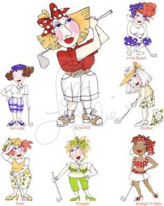 You Golf Girl II Embroidery Design Collection by loraliedesigns, $59.00