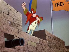 "Yosemite sam ""A Hessian without no aggression"""