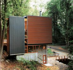 Miller Hull - Sisson house, Mercer Island WA 1998