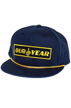 Reason Hat The Our Year Snapback in Blue Dope Hats, Snapback Hats, Blue, Snapback