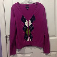 Tommy Cardigan Worn once. Great condition. Large but can fit like a medium. Tommy Hilfiger Sweaters Cardigans