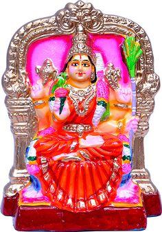 Navaratri Golu Dolls Kamakshi in Clay. Golu Bommai USA  | Golu Dolls sale is USA