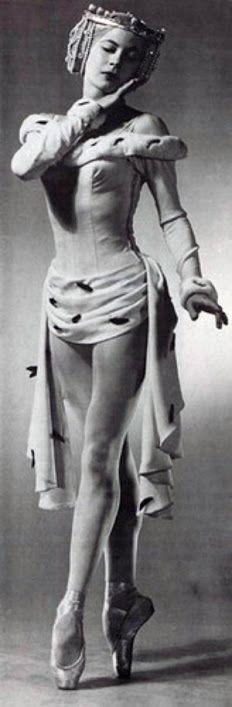 Diana Adams (1926-1993) - c. 1950's - Principal dancer for the New York City Ballet