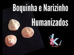 Boquinha e Narizinho humanizado - Dicas B e K artes - YouTube