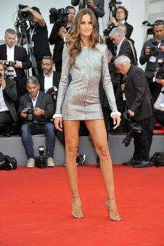 Izabel Goulart, Girl Celebrities, Beautiful Celebrities, Classy Women, Sexy Women, The Sartorialist, Red Leather Dress, Skinny Girl Body, Victoria's Secret