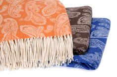Cashmere & Wool Jacquard Throws | anrcashmere.