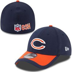 Men's Chicago Bears Navy/Orange 2015 On-Field 39THIRTY Flex Hat, Today's Sale Price: $22.99 - You Save: $7.00