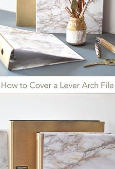 how to cover a lever arch file, crafts, how to