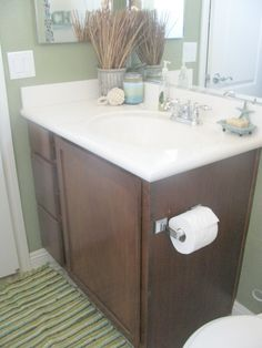 greenery bathroom Wallpaper | Download Wallpaper Small bathrooms 1200x1600 fern creek cottage my ...