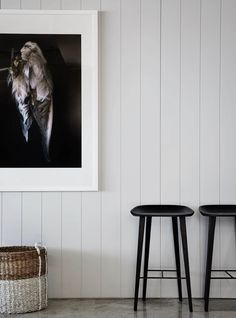 Drawn in by the light and the dynamic coastal views, this apartment in Melbourne's Albert Park is the product of the savvy team at Griffiths Design Studio. Wood Cladding, Interior, White Decor, Interior Decorating Tips, Cheap Home Decor, Interior Walls, Timber Panelling, Interior Design Bedroom, Interior Cladding