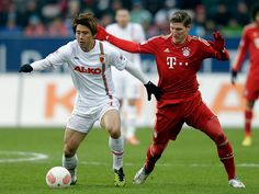 Bayern Munich vs Augsburg.