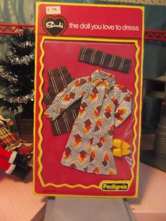 Fab Vintage Pedigree Sindy 1977 Cook In Complete NRFB Outfit 44258 Xmas Chef!! in Dolls & Bears, Dolls, Clothing & Accessories, Fashion, Character, Play Dolls | eBay