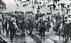 After his first meet, Pancho Villa and Emiliano Zapata  decided to occupy Mexico City on December 6th 1914.