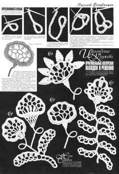 Letras e Artes da Lalá: crochet blouse Irish Crochet Tutorial, Irish Crochet Patterns, Crochet Chart, Crochet Designs, Lace Patterns, Freeform Crochet, Thread Crochet, Filet Crochet, Crochet Leaves