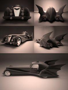 Batmobile (I love this design)