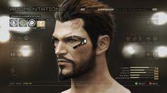 Deus Ex Mankind Divided Menus on Behance Cyberpunk 2020, Cyberpunk Art, All Video Games, Video Game Characters, Kingsman, Deus Ex Universe, Future Timeline, Deus Ex Human, High Tech Low Life