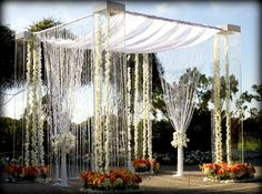 lucite huppah - Google Search