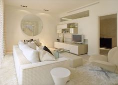 All white Living room I would love, but maybe not till astons a little older.