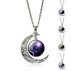 Necklace Glass Galaxy