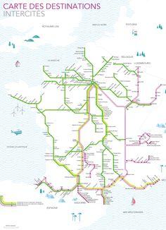 Le réseau intercités