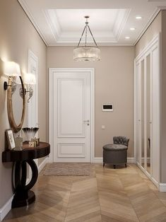 peinture salon tendance 56 Trending DIY Interior Ideas That Always Look Great - Interior Design - designing Inspirational Home Interior Ideas - Interior Paint Colors For Living Room, Room Wall Colors, Living Room Colors, Hallway Wall Colors, Beige Living Rooms, Interior Painting, Home Room Design, Living Room Designs, House Design