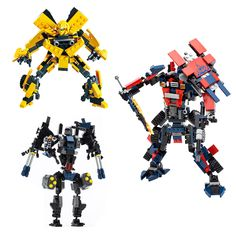 2in1 Transformation DIY Building Blocks Toys Bumblebee Optimus Prime Dinosaur Autobots Legoe Compatible Bricks Gift For Children-in Blocks from Toys & Hobbies on Aliexpress.com | Alibaba Group