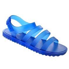 Sandália Feminina Zaxy Spring 17191 - Azul