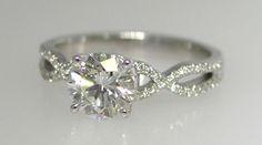 infinity symbol band engagement ring!