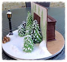 Hayley Halls Designs - Fantasy Narnia Cake