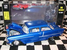 1955 Chevy Bel Air 1:24 scale Die Cast w/free shipping