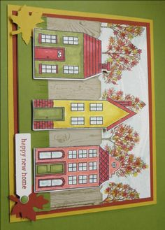 Lovely Holiday Home by Stampin' Camper - Cards and Paper Crafts at Splitcoaststampers