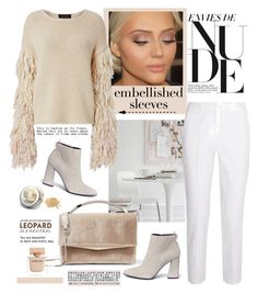 Make a Statement: Embellished Sleeves by cruzeirodotejo on Polyvore featuring Michael Kors, Stuart Weitzman, Eddie Borgo, Narciso Rodriguez and embellishedsleeves