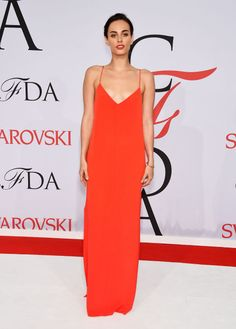 Sophie Auster in Steven Alan at the 2015 CFDA Fashion Awards. See all the looks from the night.