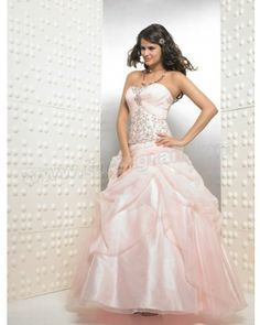 Pearl Pink Ball Gown Strapless and Sweetheart Floor Length Embroidered and Ruffled Quinceanera Dress