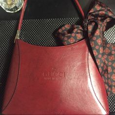 VINTAGE GUCCI Gorgeous burgundy. I bought as authentic from another posher. However I can not tell if it is or not, because it is in Great condition and very well made. Gucci Bags Shoulder Bags
