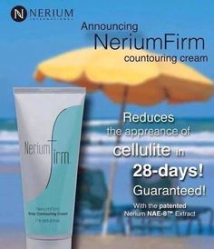 If I told you I had a product that is clinically proven to reduce cellulite, dimpling, wrinkles, scarring, discoloration, fine lines, age spots, acne, as well as improve the texture of your skin, would you try it for free?  Cathyml.nerium.com